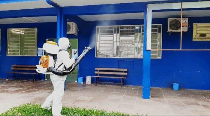 Centro de Saúde Feitoria foi isolado e passará por sanitização até sexta-feira