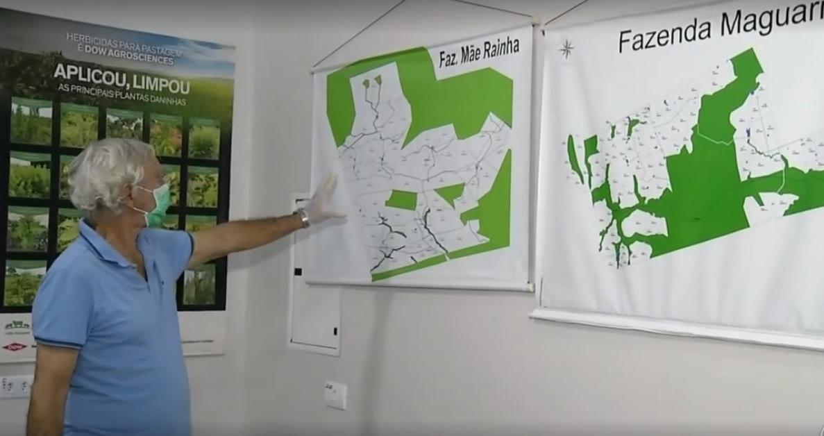 O fazendeiro Lazir Soares se apoderou de mais de 3 mil hectares dentro da reserva para criação e venda ilegais de gado