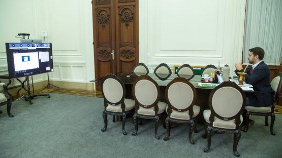 Proposta de Leite para voltar às aulas em 31 de agosto recebe críticas | Foto: Gustavo Mansur/Palácio Piratini