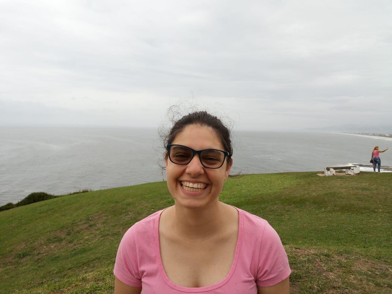 Ligia Souza, palmeirense e antifas