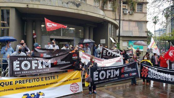 Atos em todo o país marcam dia de luta contra reforma administrativa (4) | Foto: Marcelo Carlini/Sintrajufe/Divulgação