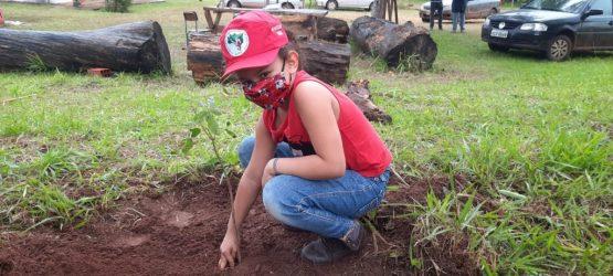 CUTRS marcará o 7 de setembro com plantio de árvores | Foto: Andreas Mateus/MST/Divulgação