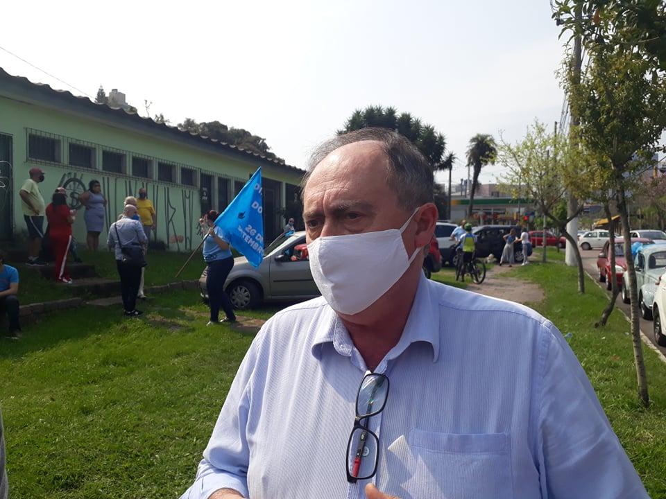 Marcos Fuhr, diretor do Sinpro/RS