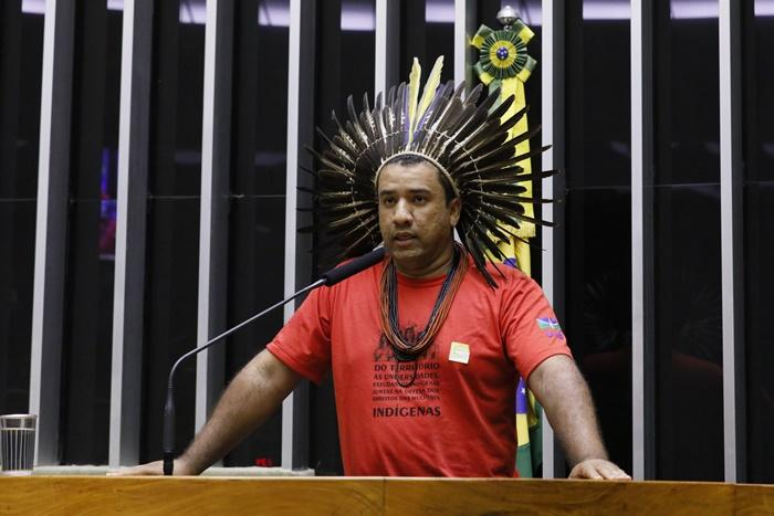 """""""Pegar uma ou duas lideranças e dizer que os povos indígenas do Brasil querem minerar, acho que é um pouco leviano, falta de caráter"""""""