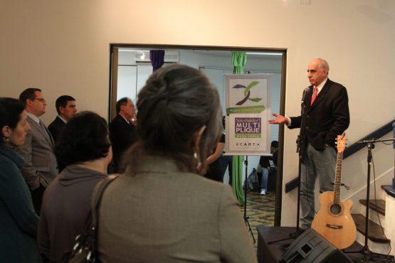 Lançamento do projeto Cultura Doadora em setembro de 2012 | Foto: Igor Sperotto