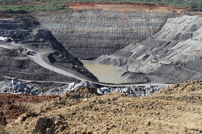 Mina na periferia de Butiá, abandonada pela Copelmi, a maior mineradora privada de carvão do país que faz lobby pela Mina Guaíba