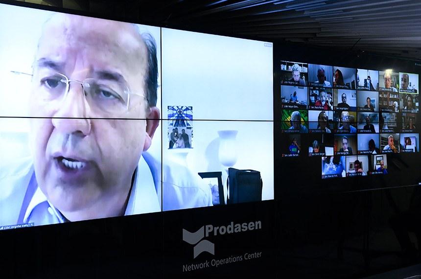 O autor do projeto, senador Jorginho Mello, cobrou urgência na tramitação do projeto na Câmara