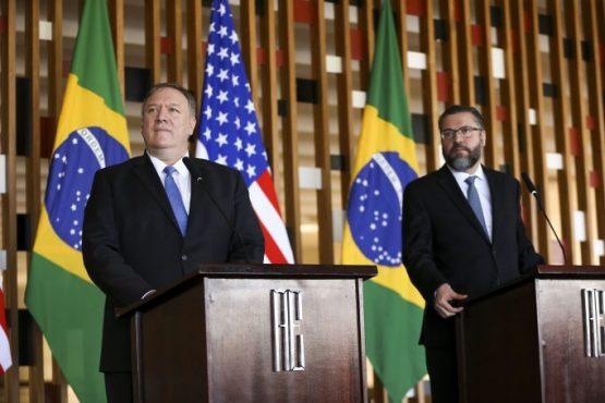 Senado pede explicações a chanceler sobre visita e declarações de Mike Pompeo em Roraima | Foto:  Foto: Marcelo Camargo/Agência Brasil