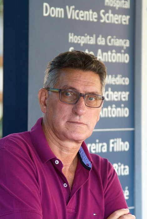 Valter Garcia, nefrologista da Santa Casa de Porto Alegre