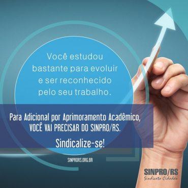 Sinpro/RS reforça importância da sindicalização | Arte: D3 Comunicação