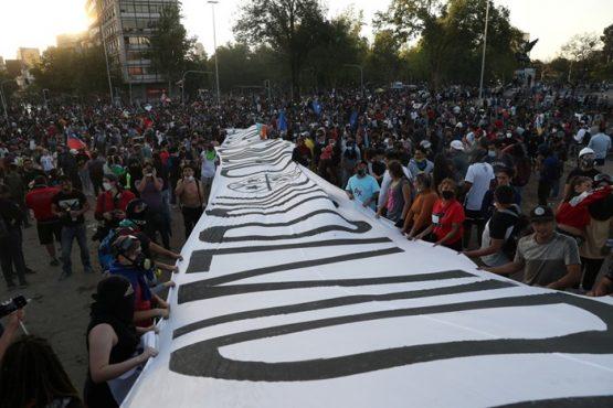 Povo chileno decreta fim da Constituição de Pinochet | Foto: Twitter/ Reprodução