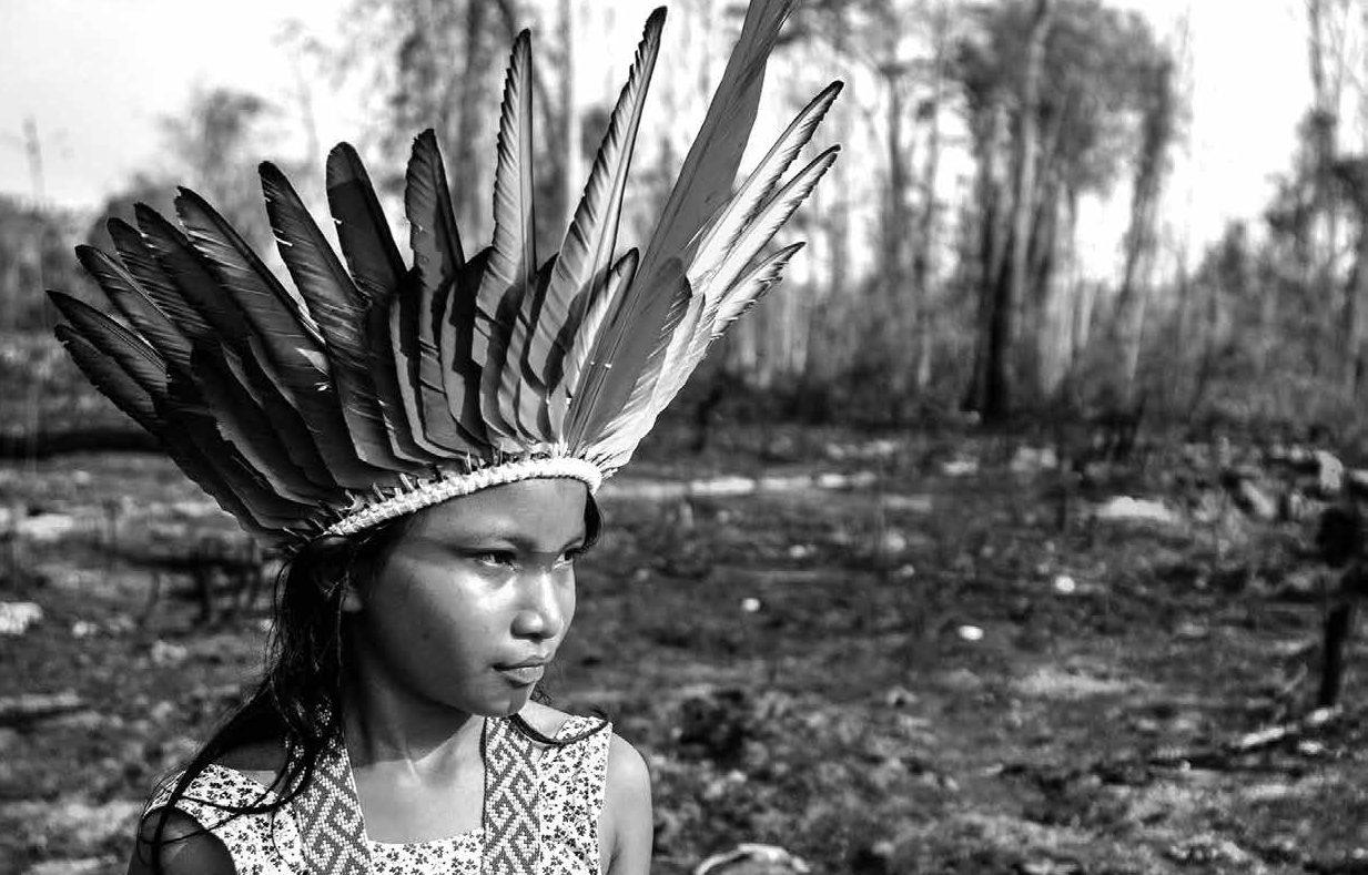O Brasil, em 2019, foi o cenário de uma das maiores tragédias ambientais do mundo, em que incêndios criminosos destruíram vastas áreas de territórios tradicionais dos povos originários