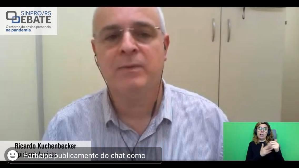 Ricardo Kuchenbecker, professor de epidemiologia da Faculdade de Medicina da Universidade Federal do Rio Grande do Sul (Ufrgs)