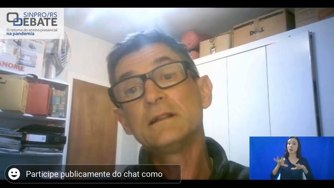 Demétrio Guadagnin, professor do Departamento de Ecologia da Ufrgs