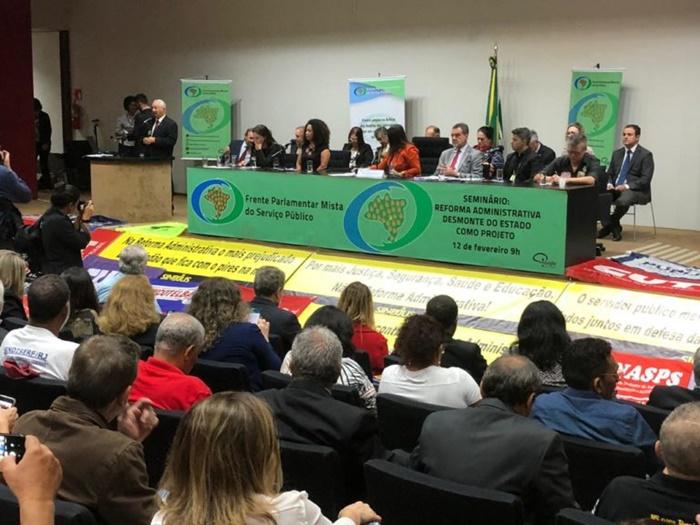 Lançamento da Frente Parlamentar Mista do Serviço Público na Câmara dos Deputados