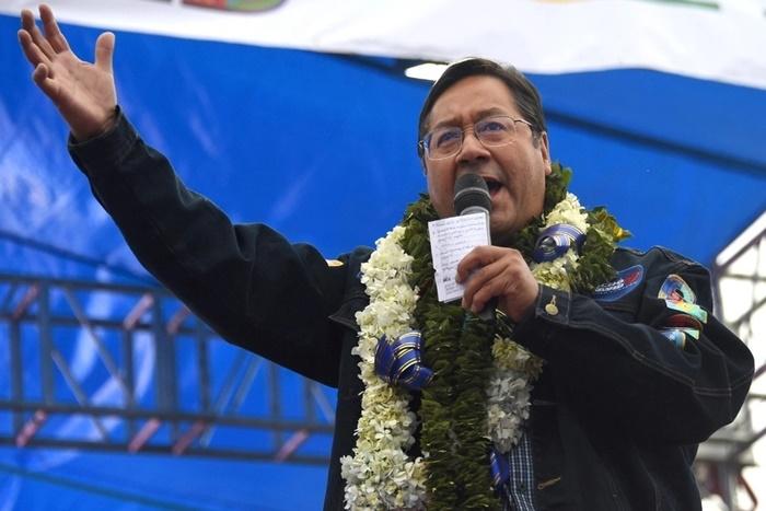 """O economista e professor universitário Luis """"Lucho"""" Arce é o novo presidente do país"""