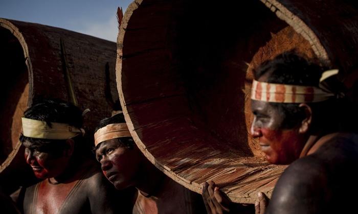 Jogos Mundiais dos Povos Indígenas, em maio deste ano: nos primeiros 70 dias de pandemia, 44 etnias já tinham sido atingidas pela Covid-19