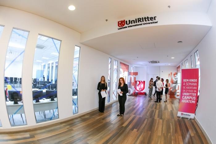 Inauguração do Campus da UniRitter no Shopping Iguatemi, em março de 2018