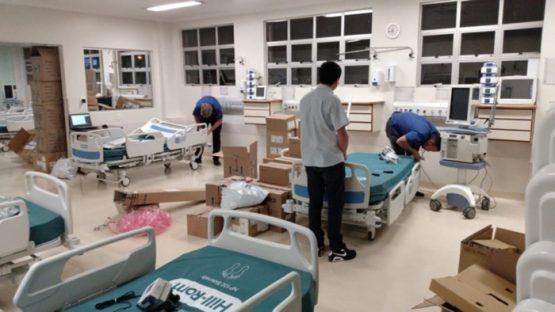 Rio Grande do Sul em alerta para aumento de casos de Covid-19 | Divulgação/Hospital Geral de Caxias do Sul