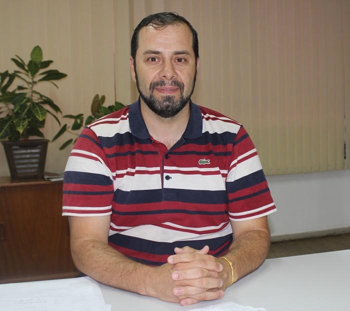 Fagundes, presidente do Cosems-SC e secretário de saúde de Cunha Porã