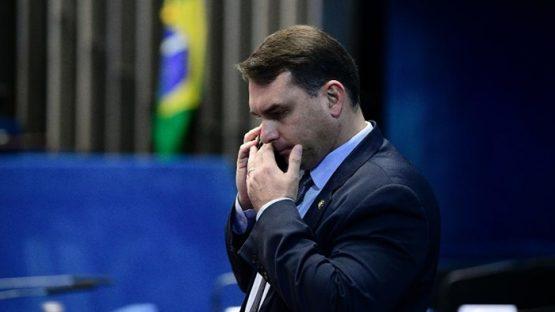 Lewandowski quer que PGR investigue Flávio Bolsonaro | Foto: Pedro França/Agência Senado
