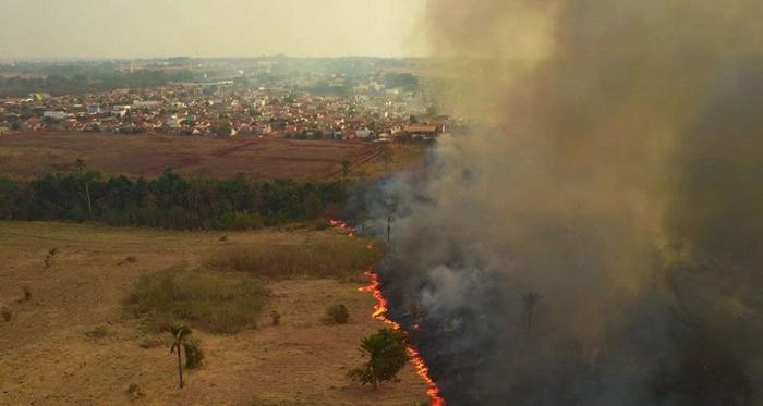 Cinco perícias realizadas pelo Centro Integrado Multiagências de Coordenação Operacional (Ciman-MT) apontaram ação humana como causa da origem das queimadas na região