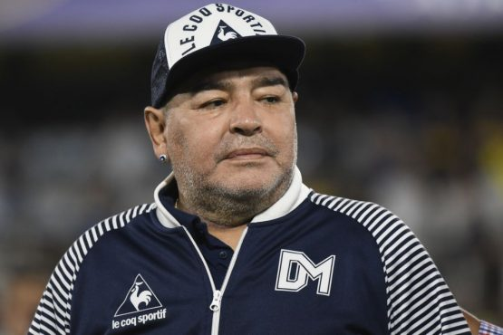 diego-maradona-morre-na-Argentina | Foto: Gustavo Garello/Jam Media/Getty Images