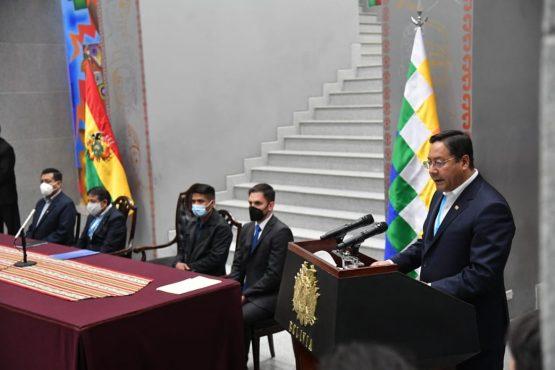 Bolívia tem imposto sobre grandes fortunas | Foto: Presidência da Bolívia/Divulgação