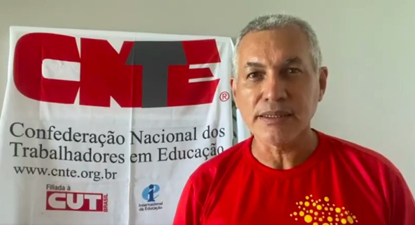 Heleno Araújo, presidente da CNTE