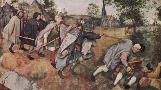 As vacinas que precisamos | Imagem: Tela de Pieter Bruegel | A parábola dos cegos, de 1568