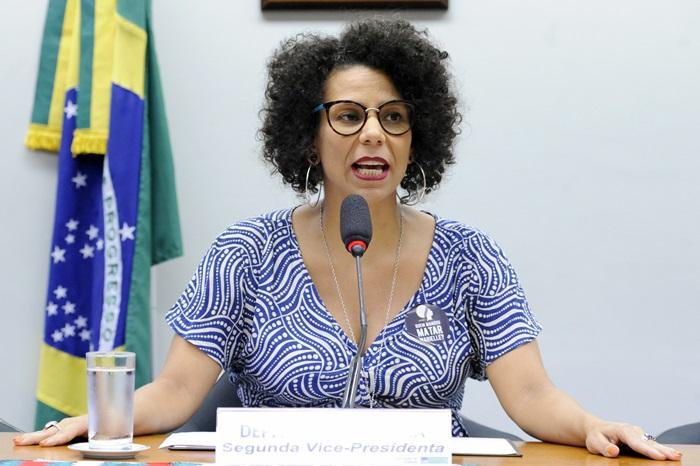 A deputada Áurea Carolina (PSol-MG) defendeu a participação popular na melhoria da legislação antirracista