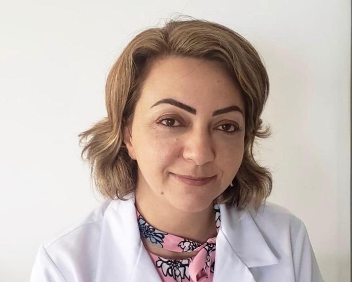 Ana Carolina, pediatra do HM, que atende pacientes com SIM-P