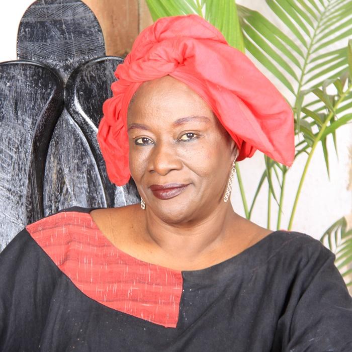 A escritora africana antiglobalização Aminata Traoré