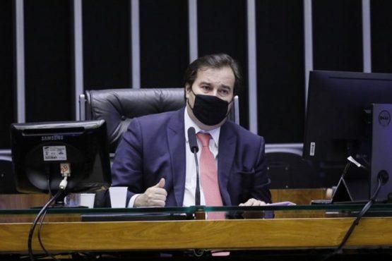 Rodrigo Maia ataca Bolsonaro por atraso na vacinação | Foto: Maryanna Oliveira/ Câmara dos Deputados