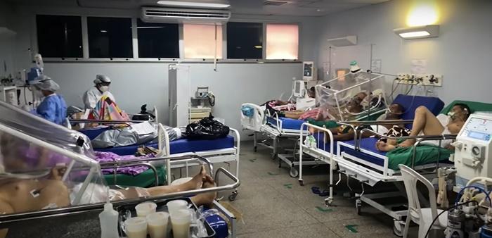 Aumento de internações de pacientes graves de covid-19 em Manaus já supera o mês de abril do ano passado, início da pandemia