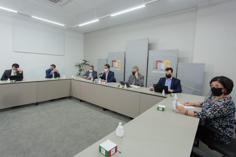 Resultados da nona etapa da pesquisa Epicovid foram apresentados em transmissão virtual no Palácio Piratini