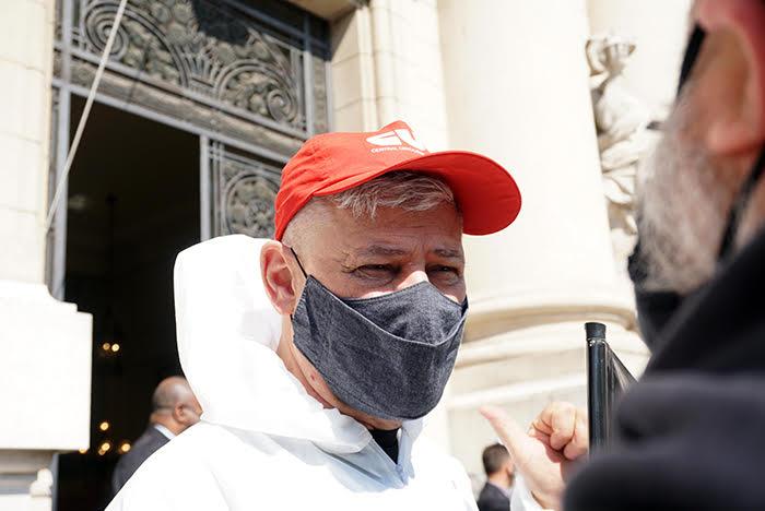 Amaridlo Cenci, Presidente da CUT/RS