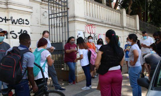 Comitê de entidades alerta sobre a falta de estrutura para aulas presenciais no estado | Foto: Rovena Rosa/ ABr