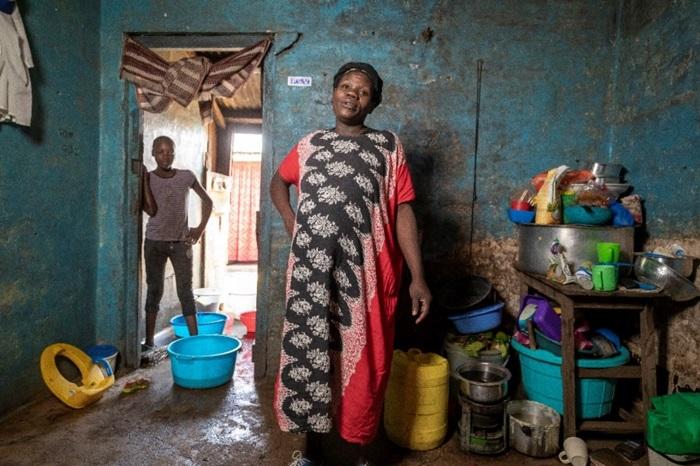 Beatrice, uma mãe do Quênia: a luta contra a fome ficou mais dura com a covid-19