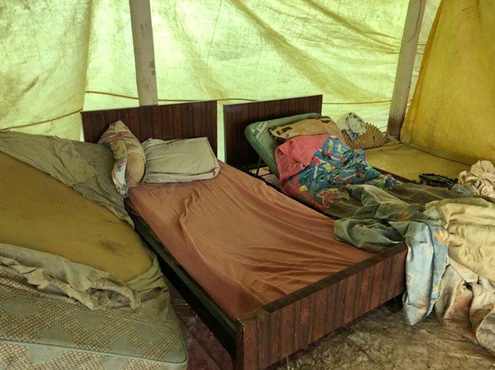 Local não apresentava condições mínimas de higiene e conforto, não podendo ser utilizado para a habitação humana