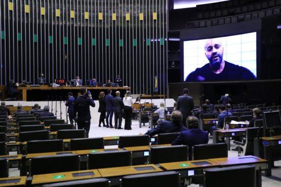 PGR pede novo inquérito sobre conduta de Daniel Silveira (2) | Foto: Michel Jesus/Câmara dos Deputados  Fonte: Agência Câmara de Notícias