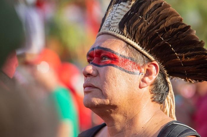 Deoclides de Paula, coordenador Kaingang do Conselho Estadual de Povos Indígenas
