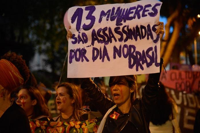 O Brasil ocupa o quinto lugar entre as nações com maior incidência de feminicídios no mundo