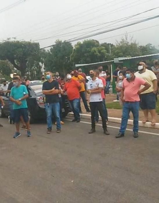 Em Cuiabá (MT), motoristas fizeram a quarta paralisação contra aumentos dos combustíveis e taxas cobradas pelas plataformas