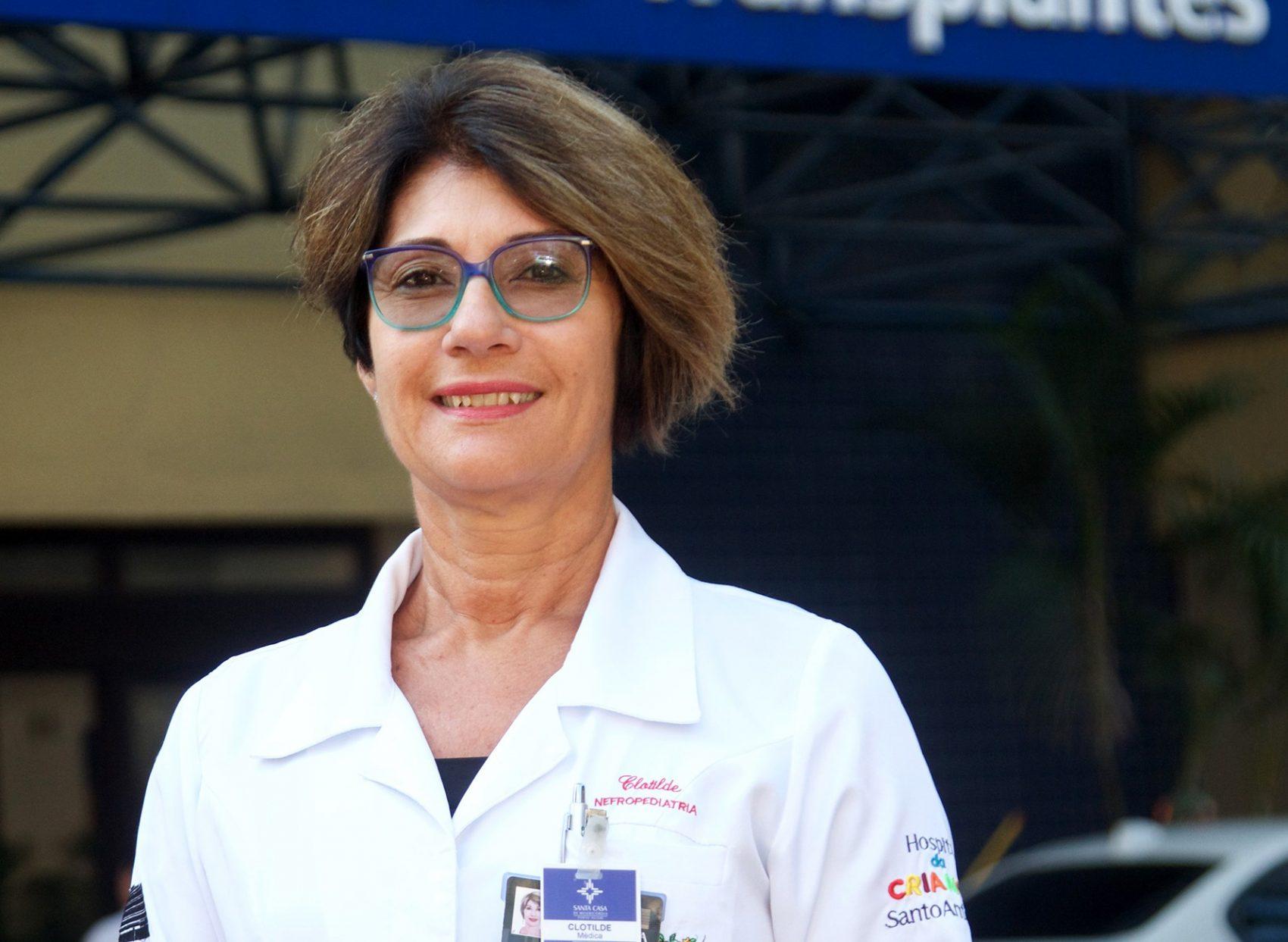 Clotilde Druck Garcia é é professora de Nefrologia da Universidade Federal de Ciências da Saúde de Porto Alegre, médica da Nefrologia Pediátrica da Santa Casa de Porto Alegre e coordenadora do departamento de transplante pediátrico da Associação Brasileira de Transplantes de Órgãos