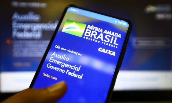 Aplicativo auxílio emergencial do Governo Federal. | Foto: Marcelo Camargo/Agência Brasil