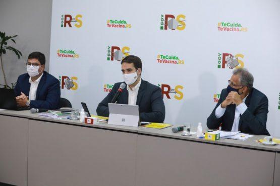 Leite quer educação com o critério de participação do ICMS | Foto: Itamar Aguiar / Palácio Piratini