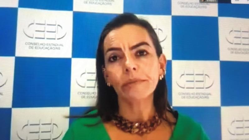 Marcia Adriana de Carvalho, presidente do Ceed/RS