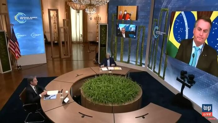 Presidente brasileiro leu discurso diante de 40 líderes mundiais sem mencionar retrocessos ambientais