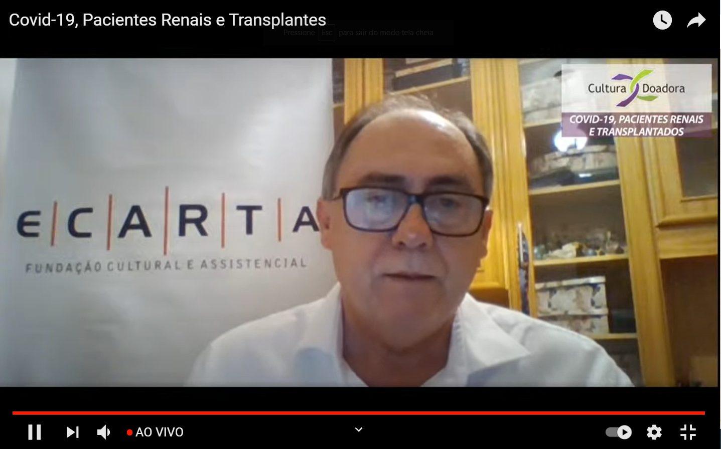 Marcos Fuhr, presidente da Fundação Ecarta e idealizador do projeto Cultura Doadora